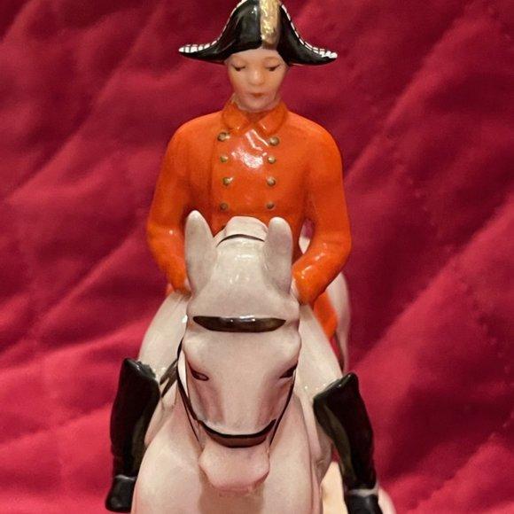 Rare 1958 Vintage Neumeyer GOEBEL Horse & Rider